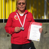 Silbermedaille für Cornelia Neumann
