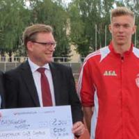 Ergebnisse Blockmehrkampf am 14.06.2016 und 2.500 €-Spende der AfA AG