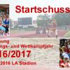 Eröffnung Trainings- und Wettkampfjahr 2016/17