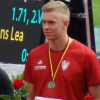 DM U18/U20 in Mönchengladbach: Jan Vasco Bringmann mit Bronze