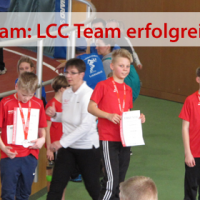 Erfolgreiches LCC Team bei den Landes-Hallen-Meisterschaften der U12 / U14
