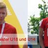 Dominik Wache und Marcel Masso Despaigne Landessieger U18 / U14