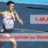 Constantin Schulz mit Bestleistung zum Saisonabschluss