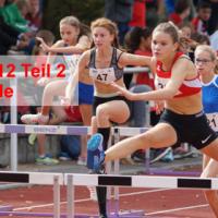 Vivien Fichert U14 Landesmeisterin 60 m Hürden