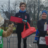 Blanka Dörfel gewinnt Berliner Silvesterlauf 2018