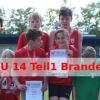 Medaillensatz für Till Natho; 4x75m Staffel Meister U14