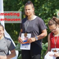 Maria Amsel gewinnt 400m Lauf; Bursch & Schulz: Norm am Tag 2