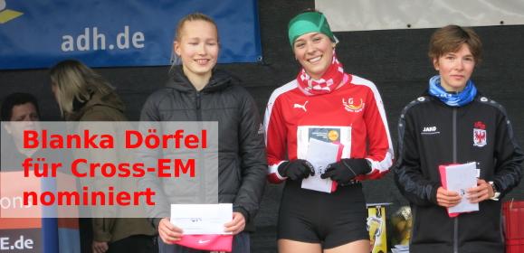 DLV nominiert Blanka Dörfel für Cross-EM