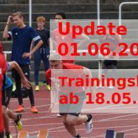 Wiederaufnahme des Trainingsbetriebes