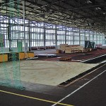 Wird ab 2010 komplett neu saniert, die Laufhalle im Sportzentrum. Foto: Fugmann