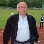 35 Jahre Leichtathletiktrainer, Siegfried Elle. | Foto: Fugmann