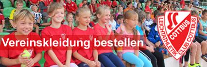 Leichtathletik Club Cottbus | Vereinskeidung