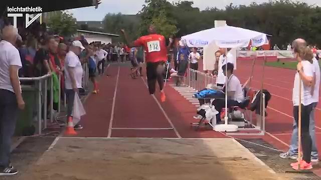 Weitsprung 3. Platz Plamedi Mavinga mit 6,35 m